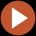 play-button-orange-brown